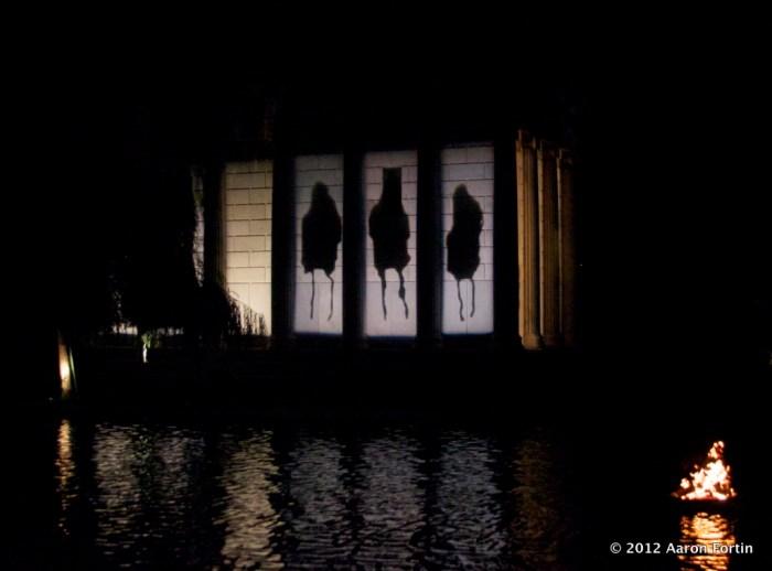 Sigur Ros silhouettes / spirits