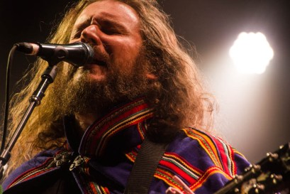 Yim Yames of My Morning Jacket @ Merriweather Post Pavilion - 8/18/12 || Photo © Kevin Hill / Chunky Glasses