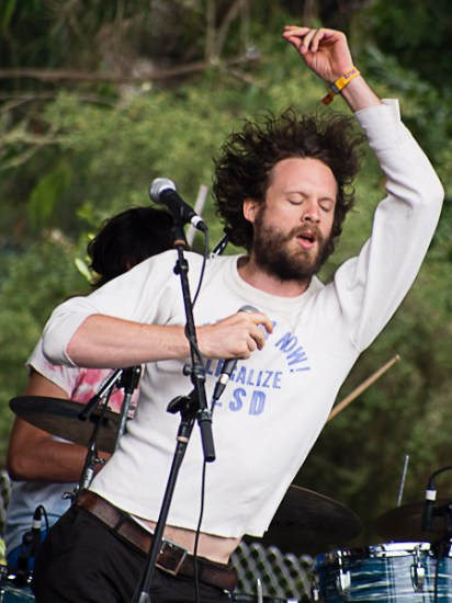 Josh Tillman of Father John Misty @ Outside Lands 2012 || Photo by Jimmy Grotting
