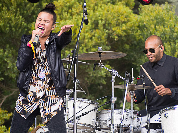 Bomba Estereo @ Outside Lands 2012 || Photo by Jimmy Grotting