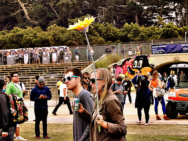 Flower Child @ Outside Lands 2012 || Photo © Wesley Hodges