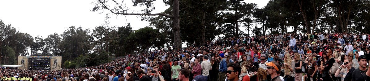 Crowd for Alabama Shakes @ Outside Lands 2012 || Photo © Wesley Hodges