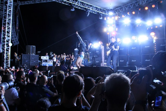 Sleigh Bells @ FYF Fest 2012 - 9/1/12 || Photo by Joey Serxner