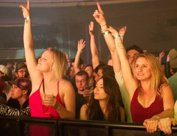 STS9 Fans @ Hollywood Palladium 3/2/13. Photo by Aaron Fortin