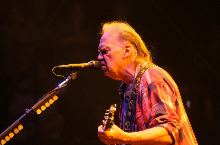 Neil Young @ Voodoo Experience 2012 | Photo by John Stephens