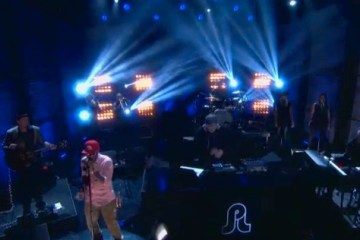pretty lights full band on conan