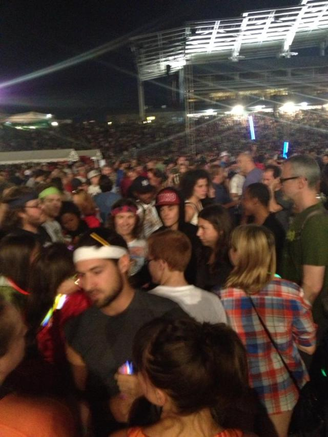 Justin Bieber at Phish
