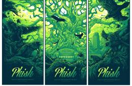 phish halloween run posters