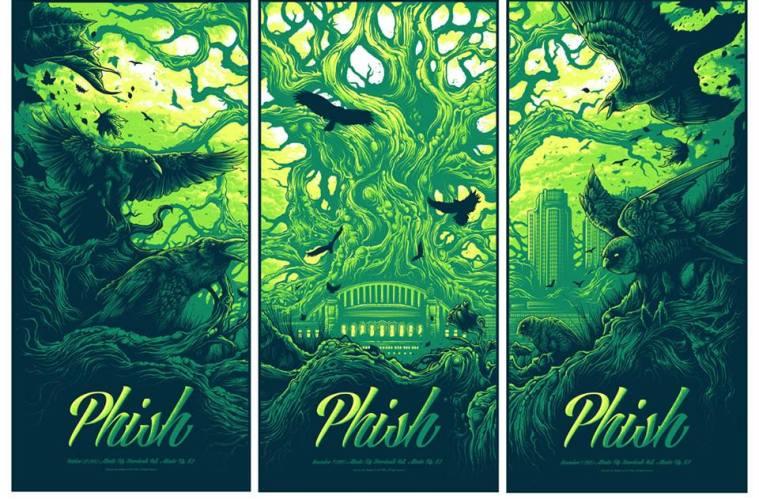 phish halloween run posters
