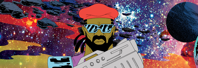 MajorLazer Soundcloud background