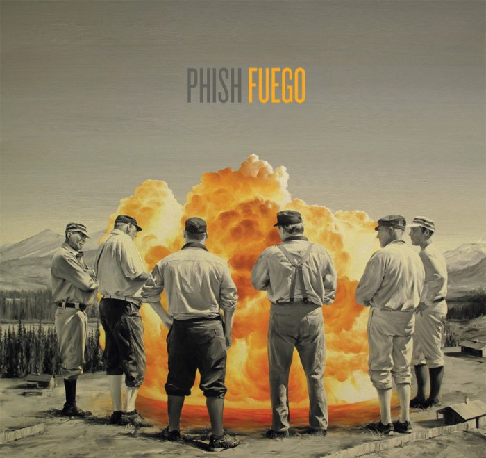 phish fuego cover