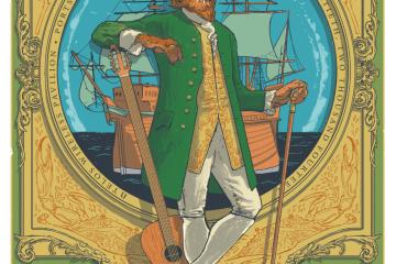 phish portsmouth poster 2014