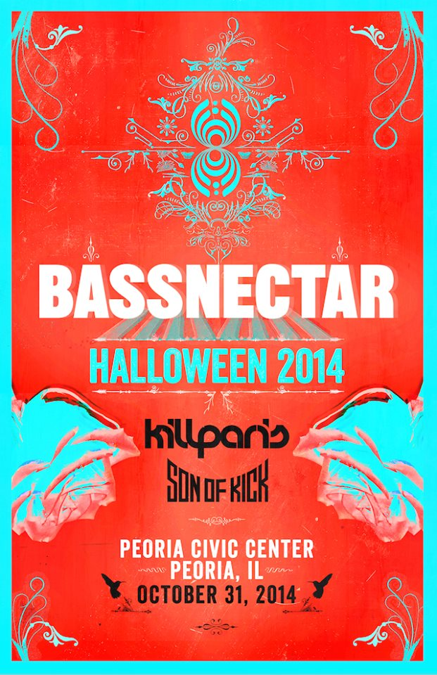 bassnectar halloween 2014
