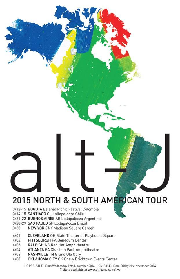 Alt-J tickets, setlist, & tour dates
