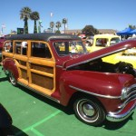 Woody at Pismo Beach Car Show