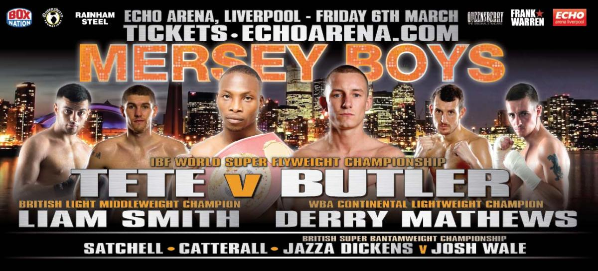 BOXING: Mersey Boys | Echo Arena | Fri 6 March 2015
