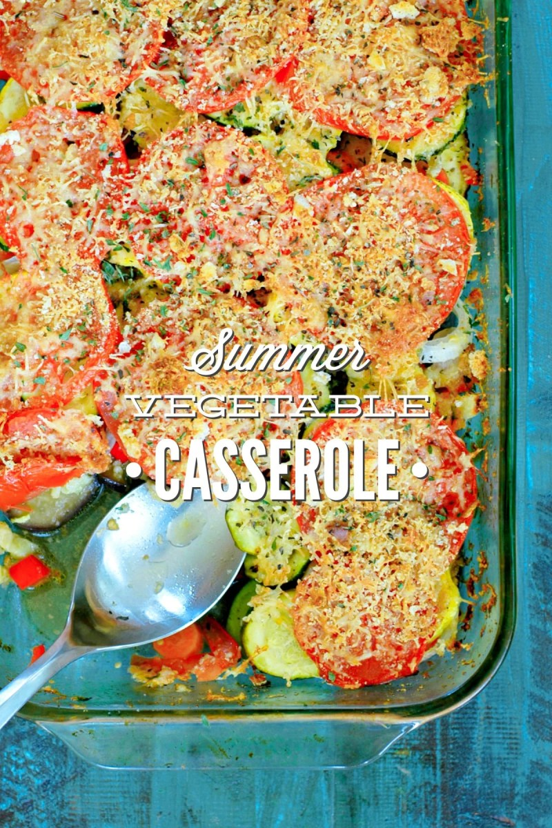 Large Of Vegetable Casserole Recipes