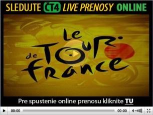 Online prenosy z Tour de France 2013 naživo na CT sport