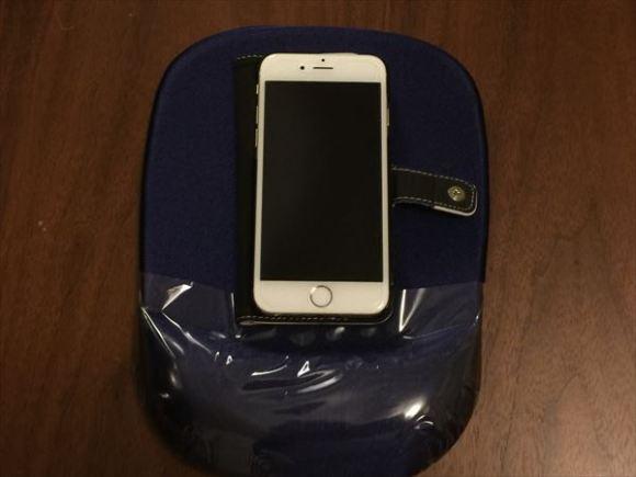 サンワサプライの低反発付マウスパットが最高-iPhone6sと比較-@livett1