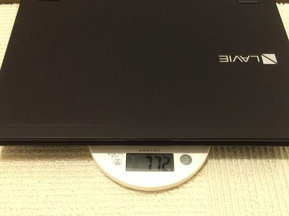 【使用レビュー】人生最高のノートPC!世界最軽量《LaVie Hybrid ZERO》が快適すぎてオススメ-重量-@livett1