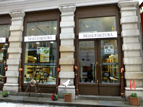 Manufaktura in Prague