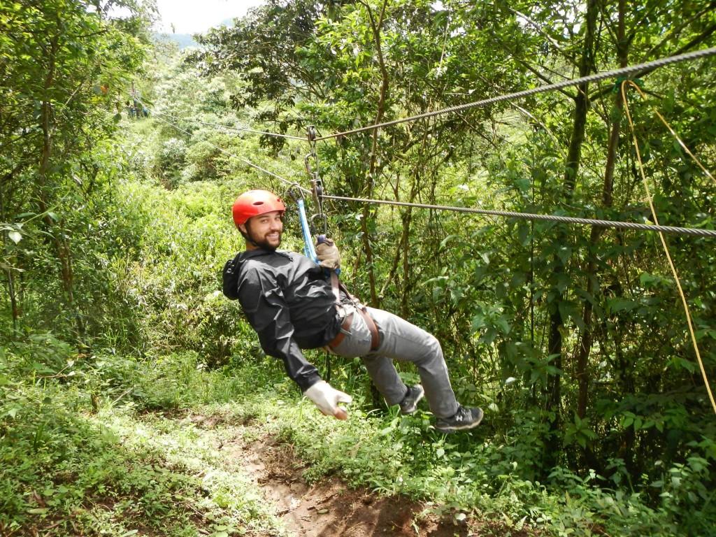 digital nomad Josh Rueff in Ecuador