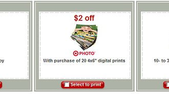 New Target Printable Coupons!!!