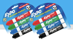 New Expo Dry Erase Markers Coupon (Facebook) Plus Two Walgreens Scenarios!!!!