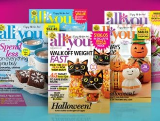 *HOT* deal for All You magazine…only $0.92 an issue!!! All You is a staple for couponers or anyone trying to save money!!!