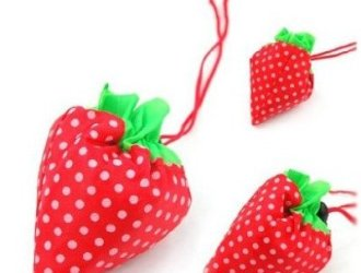 Amazon Strawberry Folded Reusable shopping bag…super cute and just $1.19 shipped!