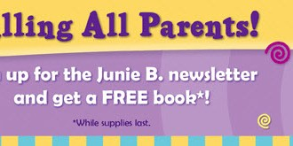 Snag a FREE Junie B. Jones book for your kiddos to read for the summer!!!