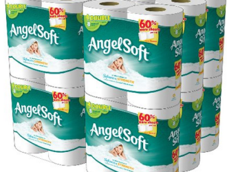 Amazon – Angel Soft Toilet Paper just $0.19 a roll!
