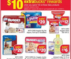CVS Huggies Pull Ups just $2.17 each *STOCK Up*