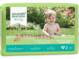 Amazon has Seventh Generation Diapers for just $3.99 for a case of 144 diapers!!!