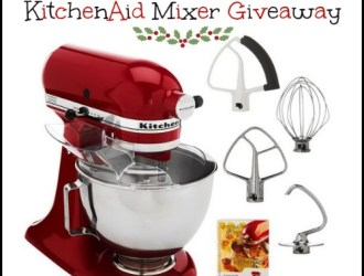 It's Christmas Bakers Edition: FREE KitchenAid Mixer Giveaway!!!