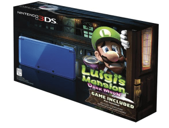 Go quick Nintendo 3DS with Luigi's Mansion: Dark Moon…just $149.99 shipped!!!