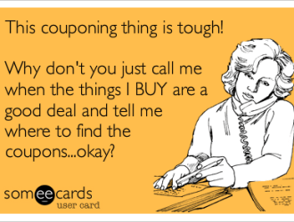 How, where, when and what…finding, using and organizing coupons!