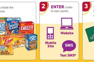 Kellogg's Family Rewards: New 100 point code (score free products, high value coupons and more)!