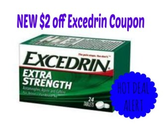 HOT new $2 off Excedrin Coupon + Just $0.69 each at Rite Aid!