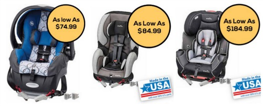 Here Is An Awesome New Printable Coupon For 15 Off Of Your Purchase Evenflo SureSafe Carseat These Are Sold At Walmart And Starting