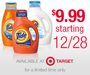 HUGE Savings on Tide Laundry Detergent at Target!