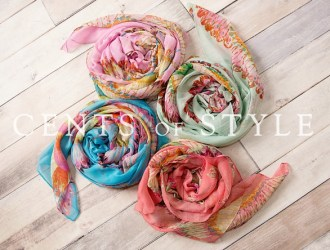 Cents of Style 2 Fashion Scarfs for $11.95 shipped!