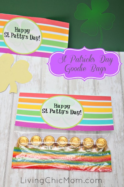 st patricks day goodie bag
