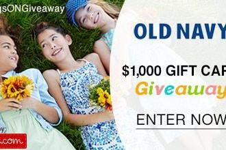 Old Navy – 1 Day only 30% off Sitewide + HUGE $1000 Giveaway!!! #SavingsONGiveaway