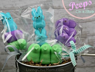 PEEPsicle's – Peeps on a stick!