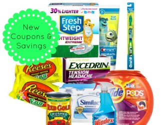 New Coupons – Tide, Crest, Red Gold and even FREE Reese's Egg!