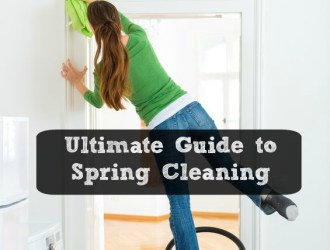 Ultimate Guide to Spring Cleaning + Printable Checklist