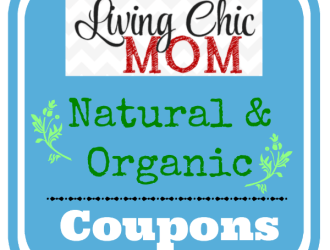 *NEW* All Natural and Organic Coupons