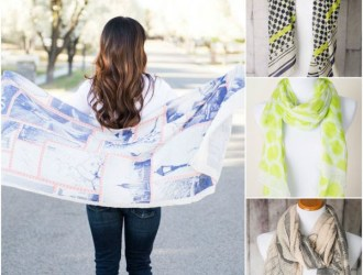 Cents of Style #StyleSteals Deals – 4 Unique Scarves just $8.95 shipped