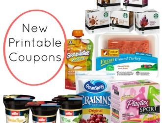 New Coupons : B1G1 Playtex Tampons, Starbucks, Foster Farms and more